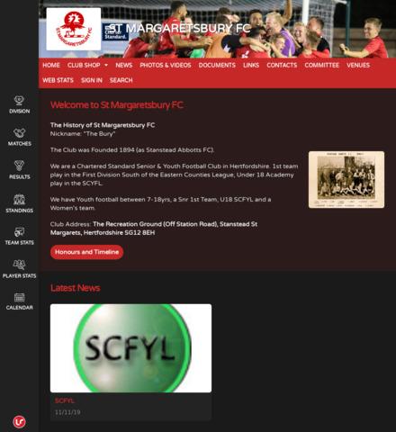 ST MARGARETSBURY FC