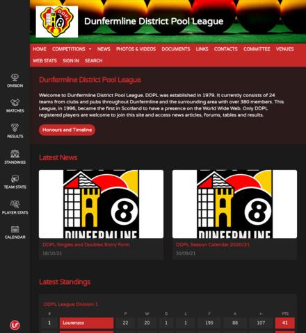 Dunfermline District Pool League