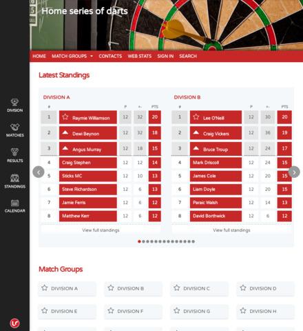 Home series of darts - screenshot