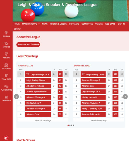 Leigh & District Snooker & Dominoes League