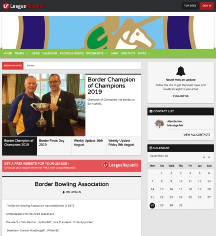 Border Bowling Association - screenshot