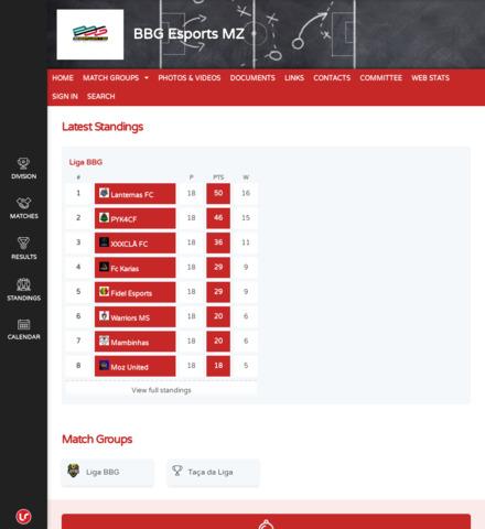 BBG Esports MZ - screenshot