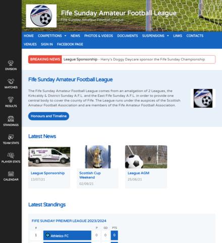 Fife Sunday Amateur Football League