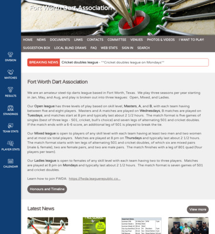 Fort Worth Dart Association