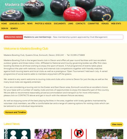Madeira Bowling Club