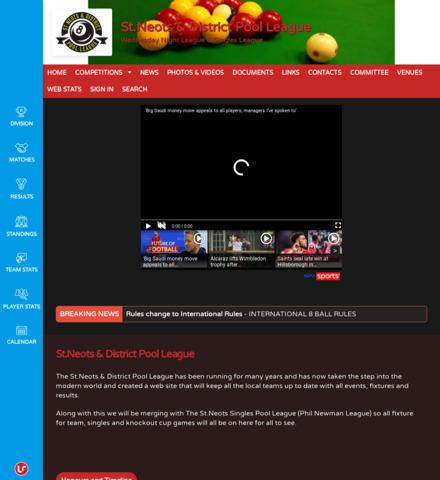 St.Neots & District Pool League