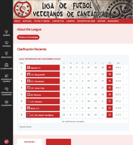 Liga Veteranos Cantabria