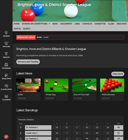 Brighton, Hove & District Snooker League