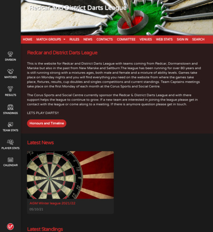 Redcar and District Darts League