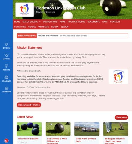 Gorleston Links Bowls Club