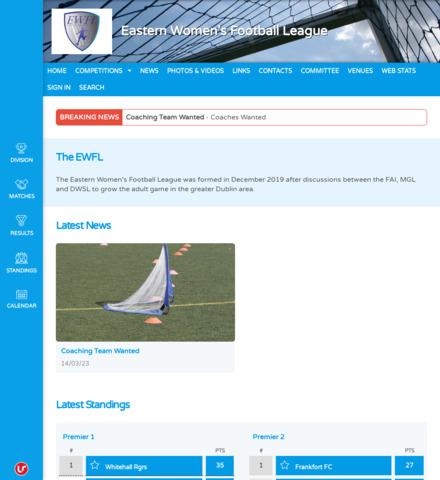 Eastern Women's Football League