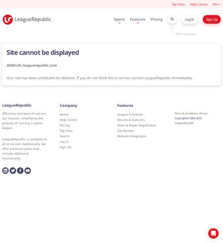 2021 Australian Futsal Association - screenshot