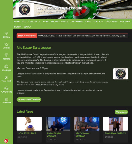 Mid Sussex Darts League