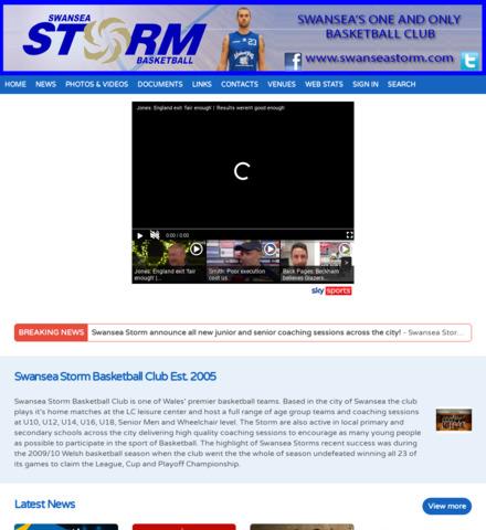 Swansea Storm Basketball Club
