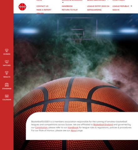 BasketballSUSSEX - screenshot