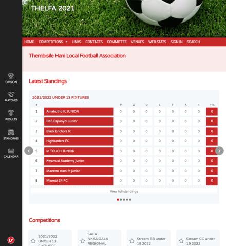 THELFA 2021 - screenshot