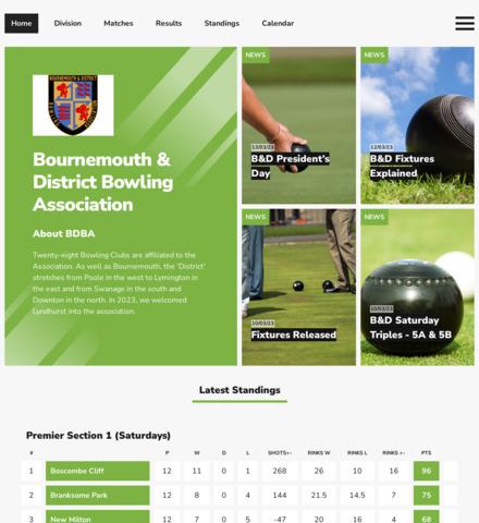 Bournemouth and District Bowling Association - imagem