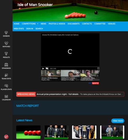 Isle of Man Snooker - screenshot