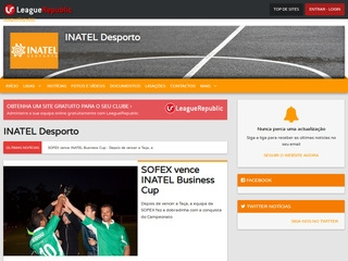 INATEL Desporto - screenshot