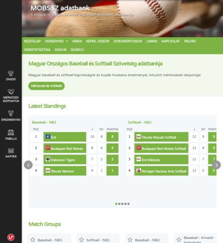 MOBSSZ adatbank - screenshot