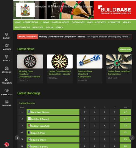 Abingdon & District Invitational Darts League