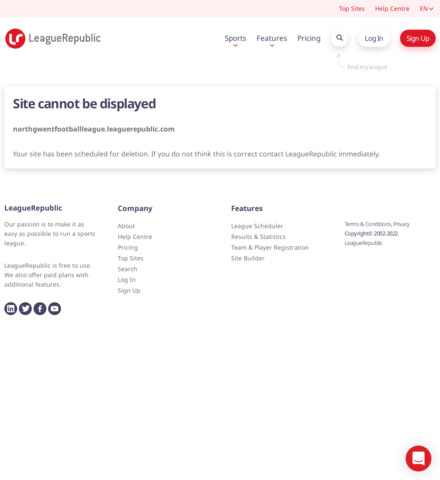 North Gwent Football League - screenshot