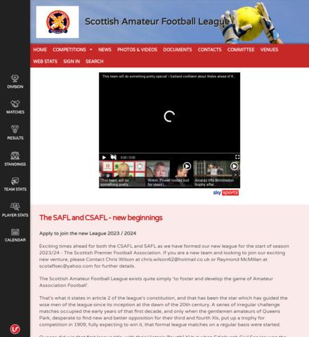 Scottish Amateur Football League - imagem