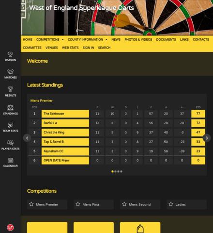 West of England Superleague Darts