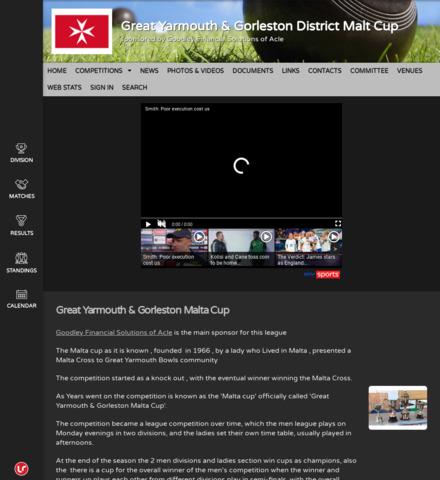 Gt Yarmouth & Gorleston Malta Cup