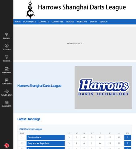 Harrows Shanghai Darts League