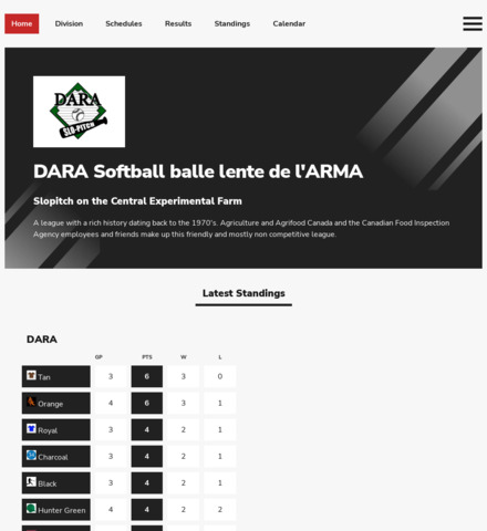 DARA Softball balle lente de l'ARMA - screenshot