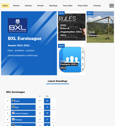 BXL Euroleague - screenshot