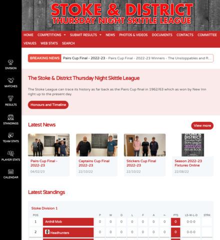 Stoke & District Thursday Night Skittle League