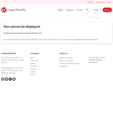 Medway Snooker League