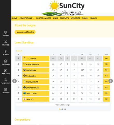Sun City Sport - screenshot