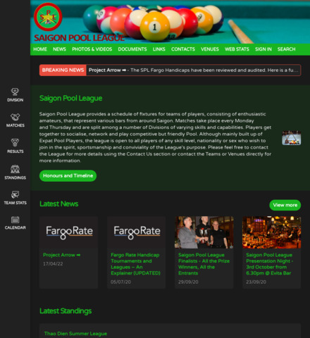 Saigon Pool League - screenshot