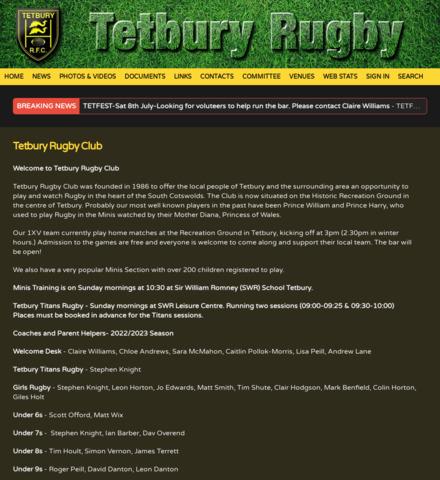Tetbury Rugby FC