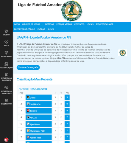 Liga de Futebol Amador do RN - imagem