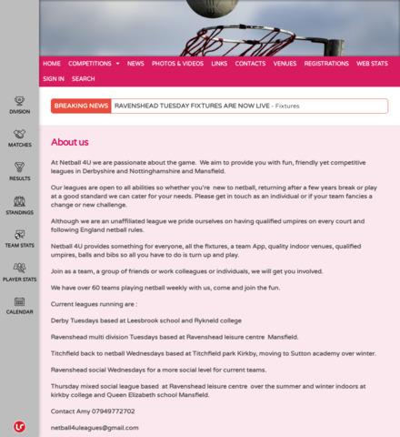 Netball 4U - screenshot