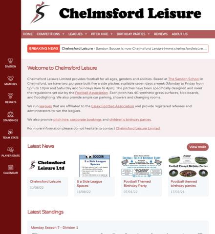 Sandon Soccer Ltd - screenshot