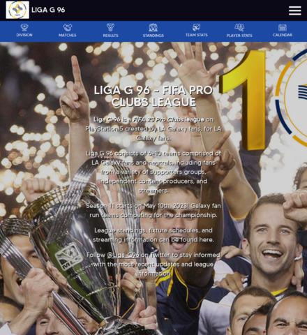 LIGA G 96 - imagem