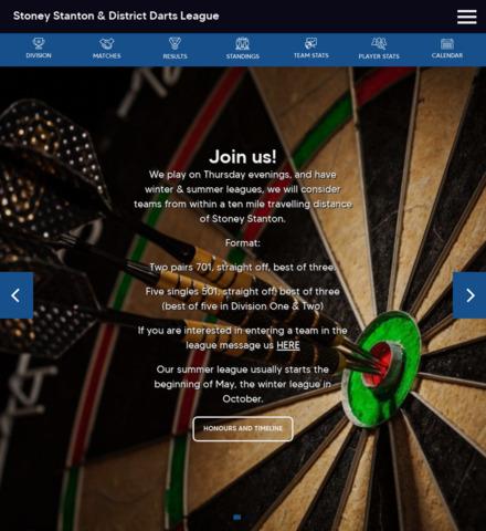 Stoney Stanton & District Darts League