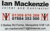 Ian Mackenzie Joinery