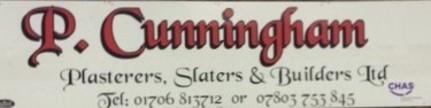 P.Cunningham Plasterers, Slaters & Builders Ltd