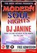 Modern Soul night DJ Janine