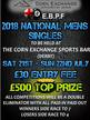 EBPF County Mens Singles Finals