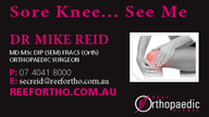 Dr Mike Reid - Orthopaedic Surgeon