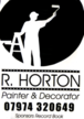 Rob Horton Painter & Decorator Sponsor of the Record Books Contact Me on 07974320649
