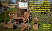J Martin Rustic Garden Furniture