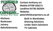 <h2>Petersfield Carpenters</h2><h3><strong>Main Sponsors of Midhurst Division 1 <strong></h3>